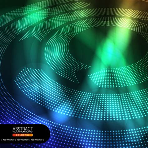 shiny circle background design vector 04 vector
