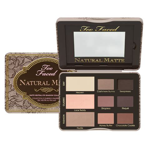 Eyeshadow Faced matte eyeshadow collection faced mecca