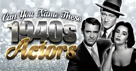 can you name these classic hollywood stars quizly can you name these 1940s actors quizly