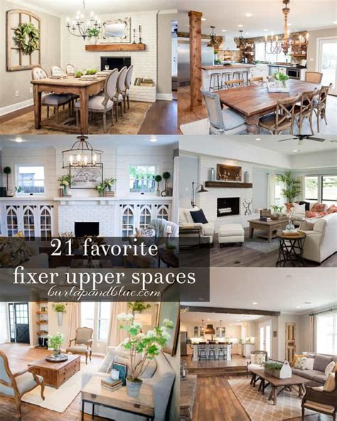 how to be on fixer upper fixer upper kitchens living and dining rooms 21 favorites