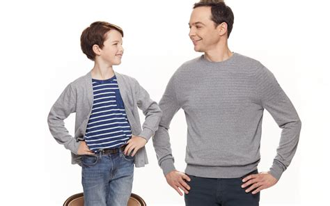 how old is actor young sheldon young sheldon s iain armitage and the big bang theory s