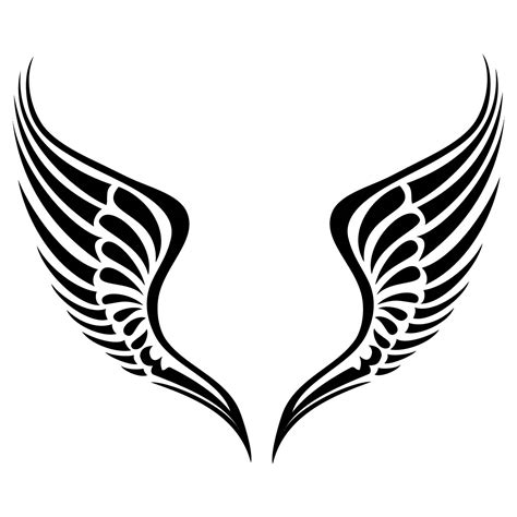tribal clipart tribal wings clipart clipart panda free clipart images