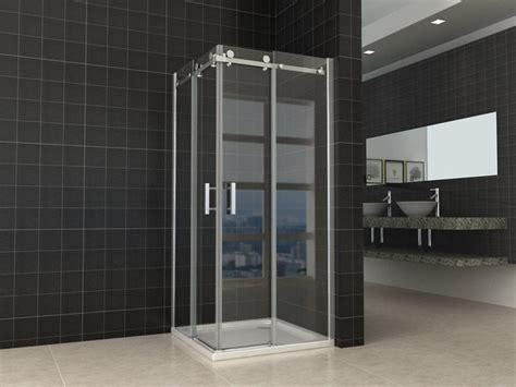 porte scorrevoli doccia box doccia angolare vetro trasparente opaco bagno italia pa