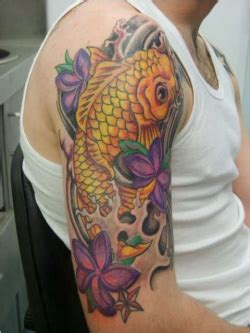 oriental koi tattoo meaning japanese koi fish sleeve tattoos for men