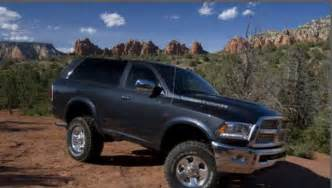 2016 dodge ramcharger concept price redesign release