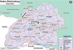 Baden Germany Map by Baden Wurttemberg Map 65 Genealogy Germany Europe