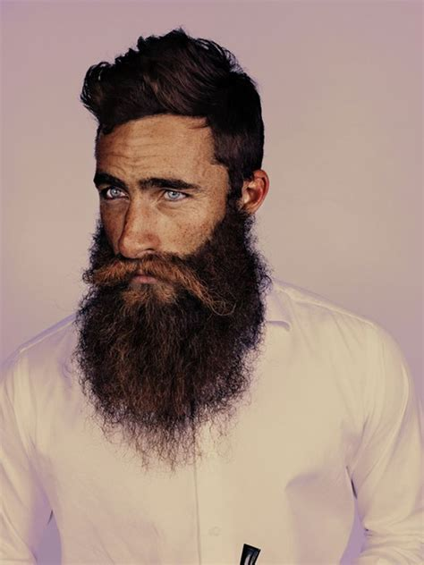 rugged beard australian surfer jimmy niggles grew a handsome rugged beard for a cause after his pal