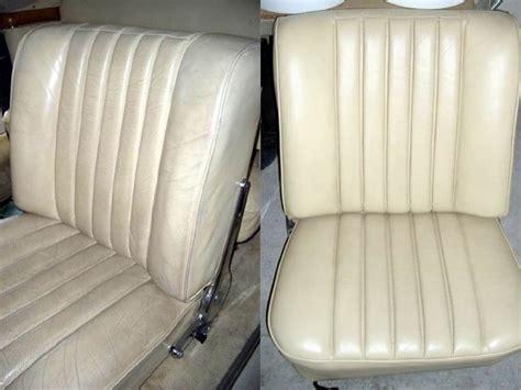 Lederpflege Autositze Cabrio by Beispiele Unserer Lederaufbereitung Lederreparatur