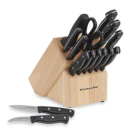 buy kitchenaid stamped triple riveted  piece knife