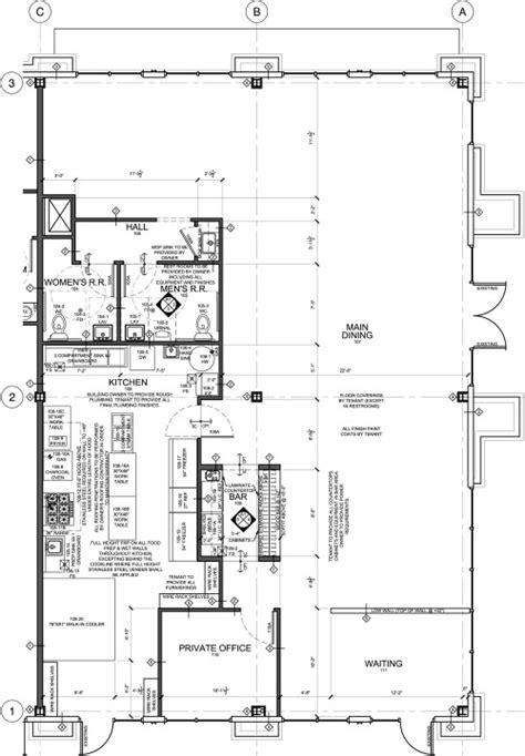 new layout for small denver bakery evstudio architect restaurant floor plan for tenant improvement taste of