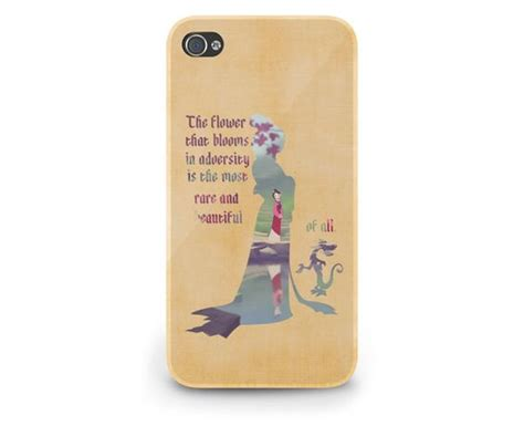 And The Beast For Iphone Ipod Htc Xperia Samsung 1 mulan quote disney personalize cover iphone 5