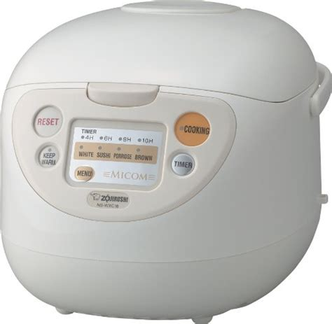 Electrolux Rice Cooker 1 8liter Fuzzy Logic Tipe Erc 6603aw zojirushi ns wxc18 micom rice cooker and warmer 10 cups