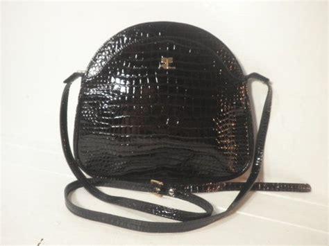 Croco String Rotelli Shoulder Bag vintage 1960 s courr 232 ges designer shoulder bag