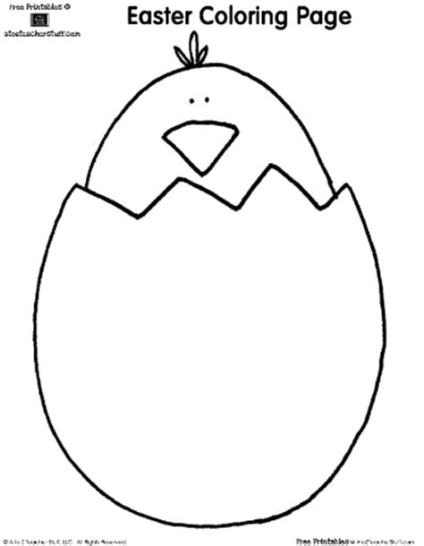 blank bunny coloring page easter coloring pages bunny and chick a to z teacher