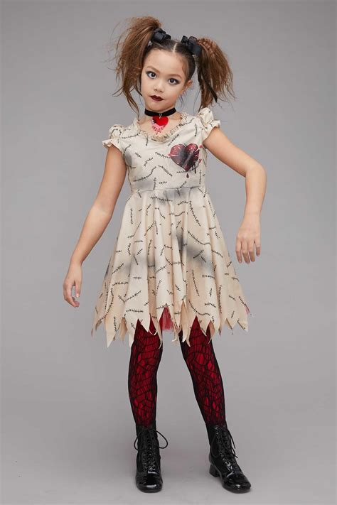 black doll costume voodoo doll costume for chasing fireflies