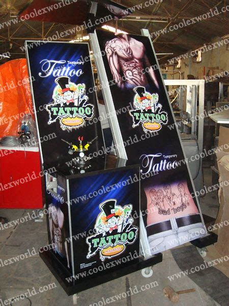 fake tattoo maker machine design your tattoo kiosk with your customized design