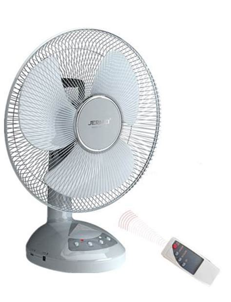 Rechargeable Table Fan With Remote Jm 6316rc Id