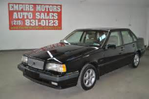 old car manuals online 1997 volvo 960 parking system 93 volvo 850 glt turbo 5 speed manual turbo only 126k miles no reserve for sale photos