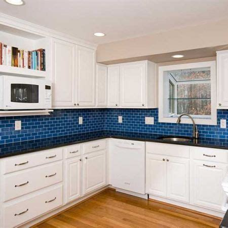 blue subway tile backsplash 92 best kitchen backsplash images on pinterest kitchens