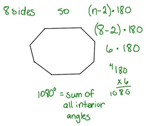 What Is The Interior Angle Of A Octagon by Mrs Swickey S Class Tuesday May 11th