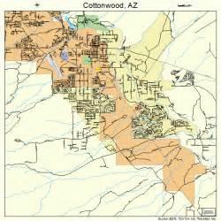 cottonwood arizona map 0416410
