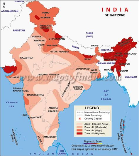 earthquake zone map seismic zoning map of india seismic pertaining to of the