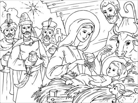 imagenes del nacimiento de jesus para pintar imagenes de navidad para colorear en l 237 nea archivos
