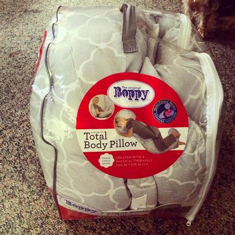 Boppy Total Pregnancy Pillow by Boppy Custom Fit Total Pillow Is For