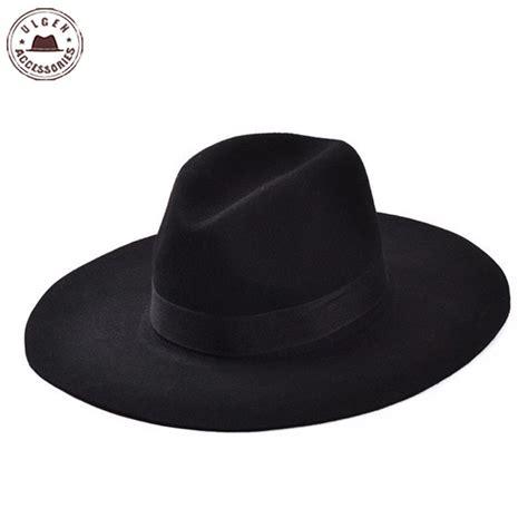 2015 and autumn flat brimmed fedora hat fashion