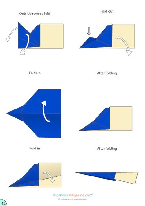 How To Make Paper Airplane Glider Step By Step - 299 best images about abenteuergeschichten on