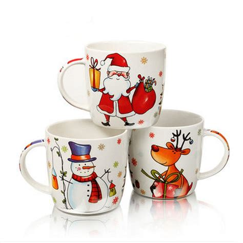 Mug Natal Santa Claus 2015 top grade ceramic mugs 400ml santa claus