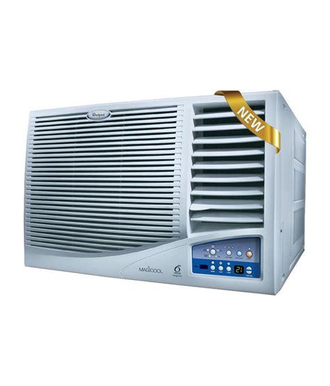 Ac Window 1 4 Pk Whirlpool 1 5 T Magicool Elt Iv Window Ac White Price In India Buy Whirlpool 1 5 T Magicool