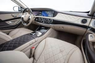 Mercedes S600 Interior 2016 Mercedes Maybach S600 Interior View Photo 58