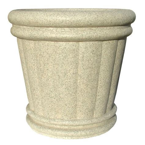 Light Planters by Kenroy Home 31 In White Garden Ornament Urn Planter 60057 The Home Depot