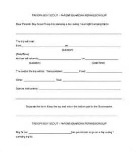 sample permission slip 14 documents in word pdf