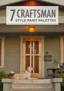 craftsman paint colors best 25 craftsman exterior colors ideas on