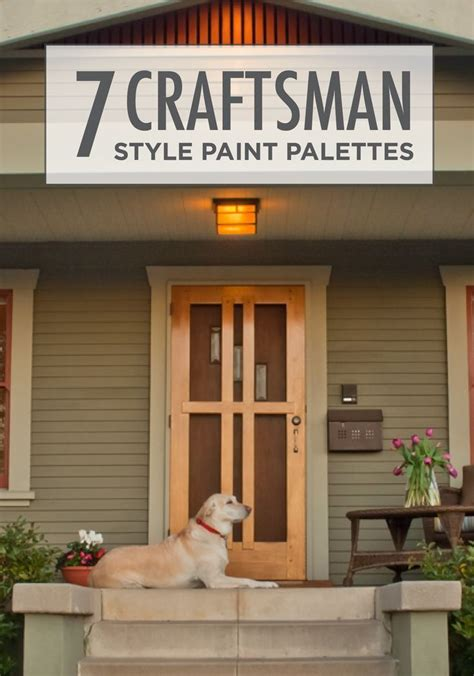 Craftsman Bungalow Interior Paint Colors by Best 25 Craftsman Exterior Colors Ideas On
