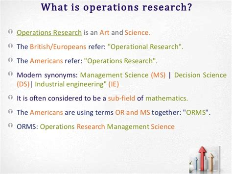What Is Operations Management Mba by Mba Qa Ii Overview Operations Research Part 1