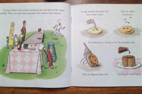 curious george makes pancakes board book books favorite book s the
