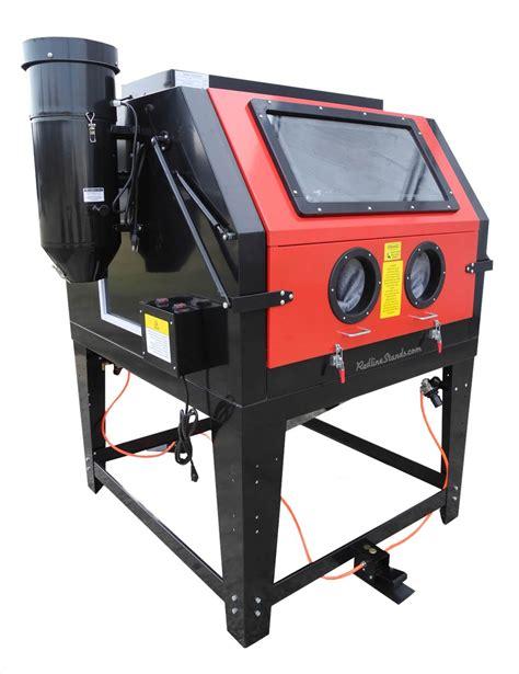 glass bead blasting equipment new redline re270 dual series abrasive sand blaster