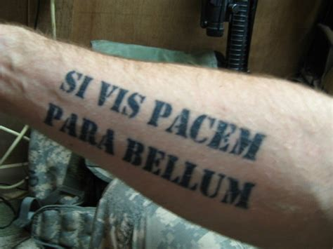 si vis pacem para bellum tattoo si vis pacem parabellum picture at checkoutmyink