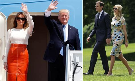 Ivanka Trumps Are Trying To Escape by President And Melania Escape Dc
