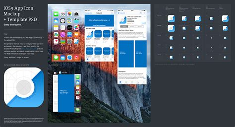 app layout ios 9 ios 9 app icon template psd every interaction