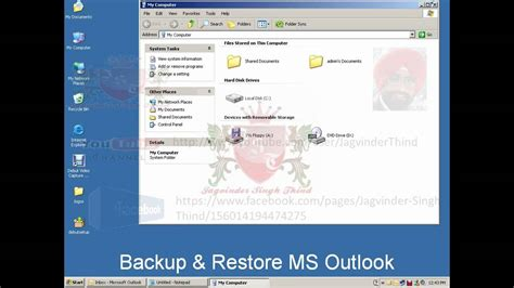 microsoft outlook 2010 backup tutorial youtube ms outlook tutorial backup and restore youtube