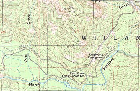 opal creek oregon map cascade ramblings cascader henline mountain opal creek