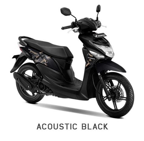 Batok Depan Beat Pop Hitam warna baru honda beat pop 2018 acoustic black 187 bmspeed7