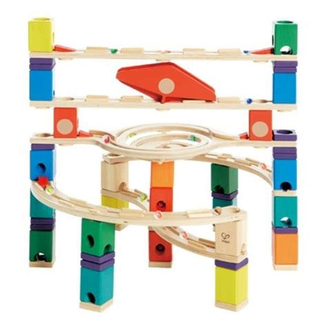 Which Hape Marble Run Quadrilla - quadrilla loop de loop marble run set hape from who