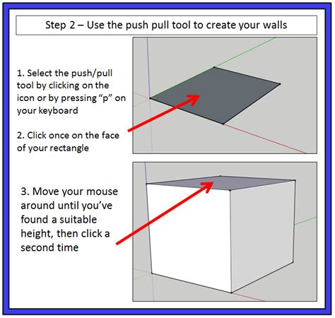 sketchup tutorial walls going 3d drawing a doghouse in sketchup the sketchup
