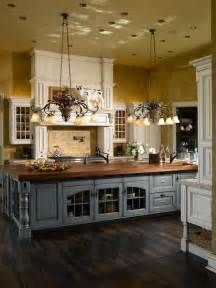 country kitchen islands 63 gorgeous country interior decor ideas shelterness
