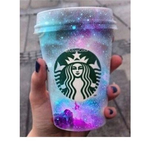 Starbucks Galaxy by Home Accessory Starbucks Coffee Galaxy Print Cup